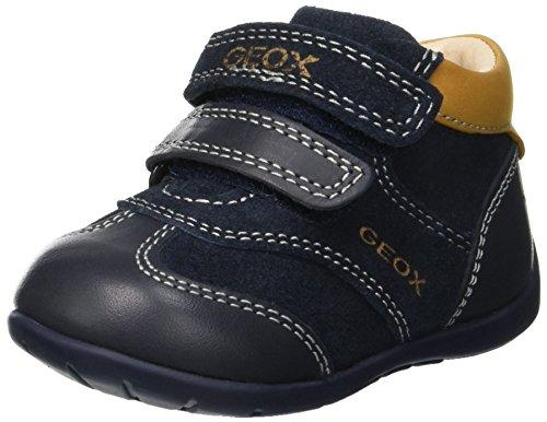 Geox Baby-Jungen B Kaytan A Sneaker, Blau (Navy/Biscuit Cf45b), 21 EU