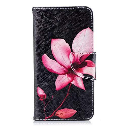GIMTON Hülle für Xiaomi Redmi 4X, Schlagfestes PU Handyhülle mit Dünn und Flexibles TPU, Hochwertige Bookstyle Stil Schutzhülle für Xiaomi Redmi 4X, Muster 5