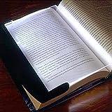 Techsun LED Book Light Night Reading Lamp Creative Reading Light Protect Eyes LED