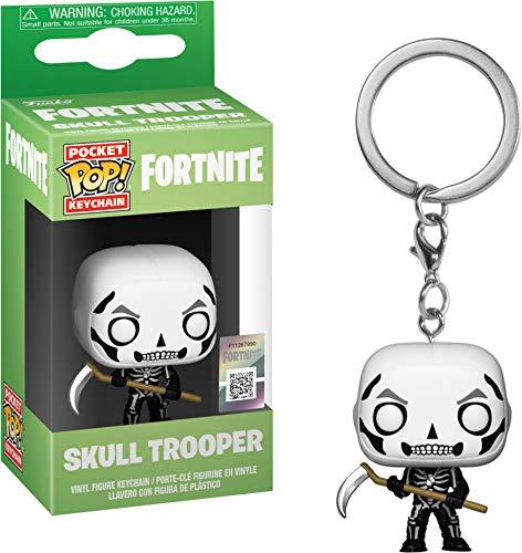 Funko 36952 pocket POP Keychain: Fortnite: Skull Trooper verzamelbaar speelgoed, meerdere kleuren