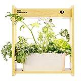 XIYEE Jardín Hidropónico LED, Luz Inteligente para El Crecimiento De Plantas, con Temporizador para El Espectro Completo De Plantas De Interior, Plantas Verdes, Jardín De Cocina De Interior