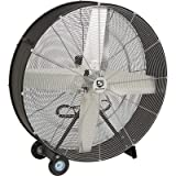Strongway Open Motor Direct-Drive Drum Fan - 42in. 3/5 HP, 17,473 CFM
