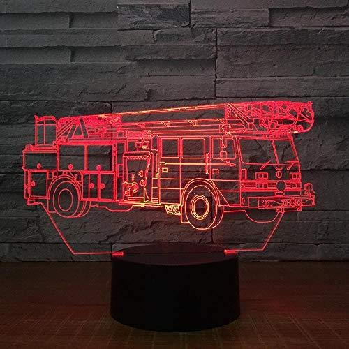 jiushixw 3D acryl nachtlampjes met afstandsbediening van kleur veranderende lampen kranen kindertafel baby room boat denham lichttafel