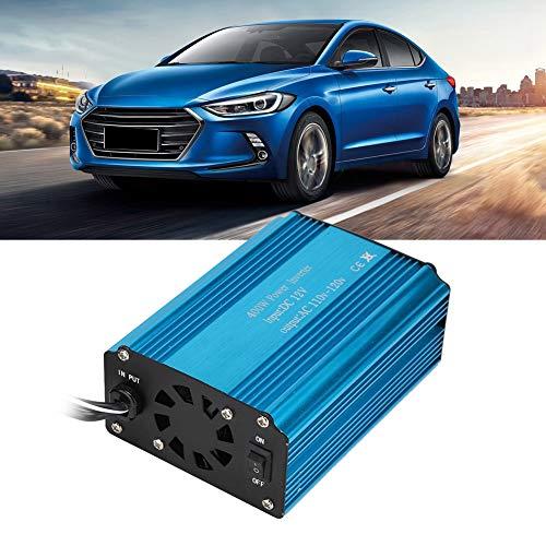 Great Deal! Nannday Car Power Inverter, Vehicle Adapter 400W Car Power Inverter Converter Charger Modified Sine Wave DC12V to 110V-120V
