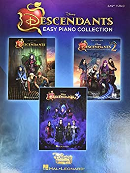 The Descendants Easy Piano Collection  Music from the Trilogy of Disney Channel Motion Picture