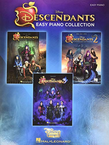 The Descendants Easy Piano Collection: Music from the Trilogy of Disney...