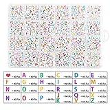 Zoom IMG-2 litthing perle di lettera acriliche