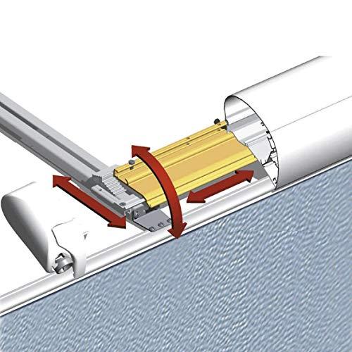 Thule Adapter-2er Set Markise Wohnwagen Befestigung Halter Markisenadapter Zubehör Reisemobil Silber