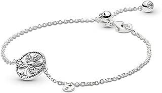 Tree of Life 925 Sterling Silver Bracelet - 597776CZ