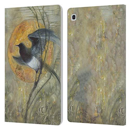 Officiële Stephanie Law Ekster Vreemde dromen Lederen Book Portemonnee Cover Compatibel voor Samsung Galaxy Tab S5e