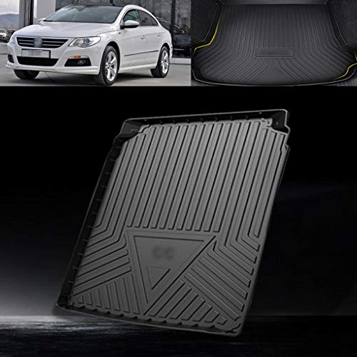 TERMALY Thermoplastic Elastomer Cargo Tray Liner,Auto Tailored Fit Durable Black Boot Liner Tray Mat Protector,Rear Trunk Protection Boot Mat,C-C Compatible (2006-2018),CC-2013