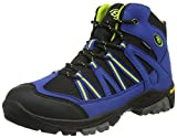 EB kids OHIO HIGH, Jungen Trekking- & Wanderstiefel, Blau (Blau/schwarz/lemon), 36 EU (3 Kinder UK)