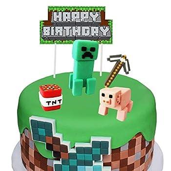 Best minecraft cake decorations Reviews
