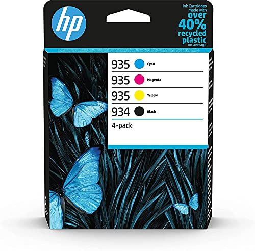 HP 934/935 4-pack Black/Cyan/Magenta/Yellow Original Ink Cartridges