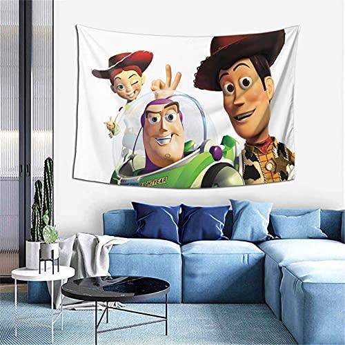 Toy Story - Manta para ventana, decoración del hogar, 156 x 100 cm