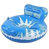 VGEBY Tabla de esquí Anillos de esquí inflables al Aire Libre de Invierno Accesorios de Tabla de esquí Flotante de Juguete para niños Adultos