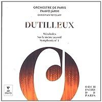 Dutilleux: Symphonie No. 1, M茅taboles, Sur un M?me Accord by Christian Tetzlaff