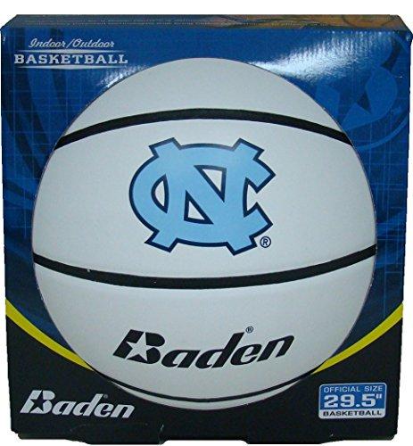 NCAA North Carolina Tar Heels Autograph Baloncesto, tamaño oficial