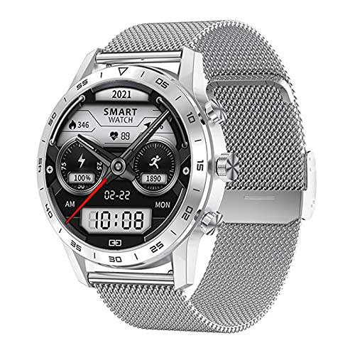 KK70 Smart Watch Hombre Bluetooth Llamada Botón Rotary 454 * 454P Business IP68 Player De Música A Prueba De Agua A Prueba De Agua,A