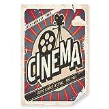 Postereck - 0478 - Vintage Plakat, Cinema Kino Film Schild