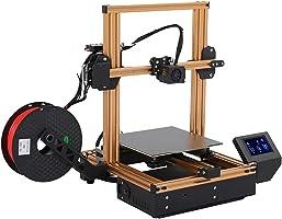 3Dプリンター 停電回復 自動水平調整 高精度 FDM 3D印刷機 DIYセット 組立簡単 最大モデリングサイズ220×220×250mm 家庭教育に適用