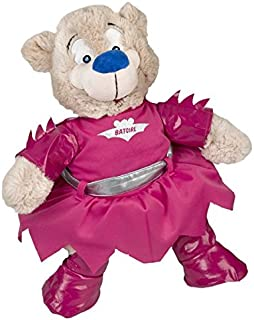 """Bat Girl Outfit Fits Most 8""""-10"""" Webkinz, Shining Star and 8""""-10"""" Make Your Own Stuffed Animals and Build-A-Bear"""