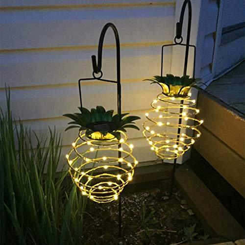 Led-verlichting voor tuin en gazon buiten, werkt op batterijen, voor slaapkamer, terras, bruiloft, party, Kerstmis, festival, decoratie, 2 stuks