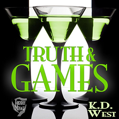 Truth & Games audiobook cover art