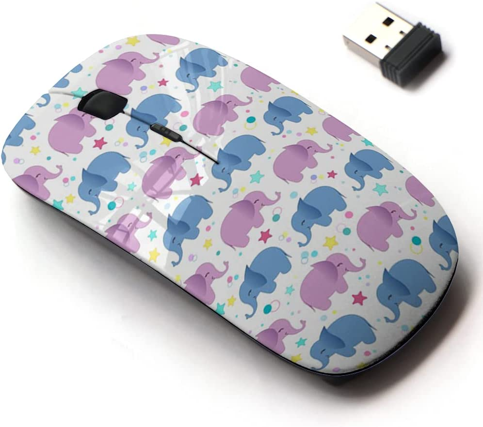 2.4G Wireless Mouse with Cute Pattern Laptops and Design All Max 86% OFF Max 85% OFF for