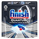 Product Image of the Finish - Quantum - 68ct - Dishwasher Detergent - Powerball - Ultimate Clean & Shine - Dishwashing Tablets - Dish Tabs