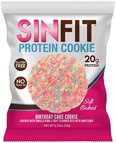 SINFIT Birthday Cake Protein Cookies