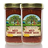 Cherry Republic Mild Cherry Salsa - Low Heat Salsa Mix with Authentic Michigan Cherries - Sweet...