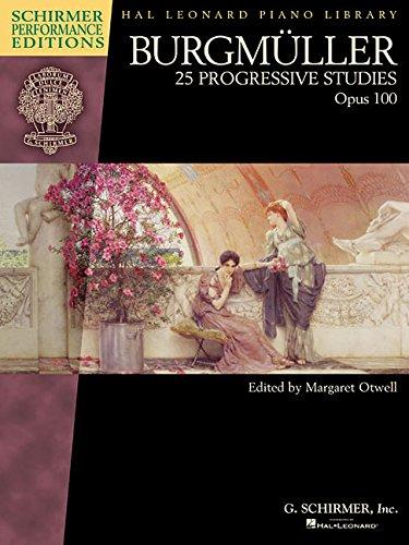 Burgmuller: 25 Progressive Studies, Op. 100 (Schirmer Performance...