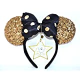 Disneyland Paris - Orejas de Minnie Gold (25 años)