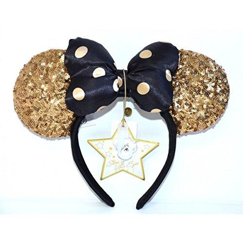 Disneyland Paris 25 Jahrestag Minnie Gold Ohren