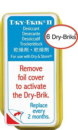 Dry-Brik II Desiccant Blocks, Pacco da 3 pezzi