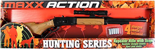 Maxx Action Repeater Hunting Toy Rifle with scope
