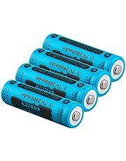 14500 Lithium ion Batterij 3.7 V 2800 mah apex Oplaadbare Batterij 14450 Batterij LED Licht Mobiele Power Afstandsbediening-4 Stks