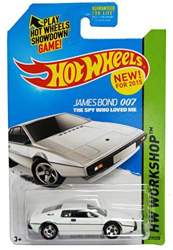 2015 Hot Wheels Hw Werkstatt James Bond 007 Der Spion, der mich liebte - Lotus Espri ...