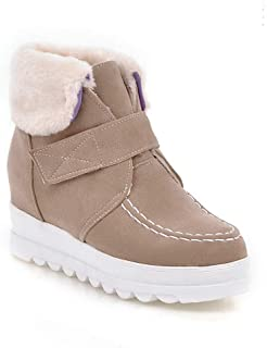 BalaMasa Womens ABS13898 Leather Boots