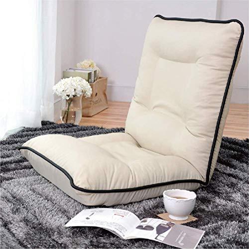 YLCJ Zaisu Adjustable Floor Chair Wohnzimmer mit Rücken-B-Unterstützung