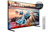 Samsung QLED 8K 2019 55Q950R - Smart TV con Resolución QLED 8K 55', Inteligencia Artificial 8K, Direct Full Array Elite, HDR Q 3000, Smart TV, Premium One Remote, Apple TV y Compatible con Alexa