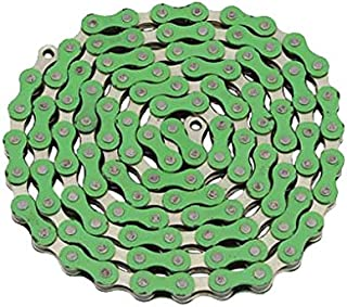 Alta YBN Bicycle Chain Twotone, (Single-Speed, 1/2 x 1/8-Inch, 112L) Multiple Colors