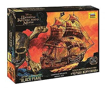 Pirate Ship Model The Black Pearl  Captain Jack Sparrow s Ship Scale  1/72 Black Pearl Ship