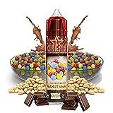 Cinema Range - Peanut Chocolate - Eco Vape E-Liquid | 50ML | Sin Nicotina: 0MG | 70VG/30PG | E-Liquido para Cigarrillos Electronicos | Vaper | E Cigarette | E Shisha