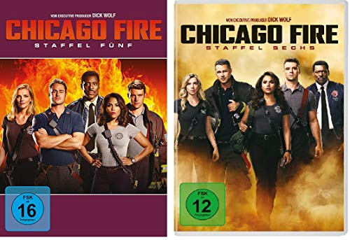Chicago Fire - Staffel 5+6 im Set - Deutsche Originalware [12 DVDs]