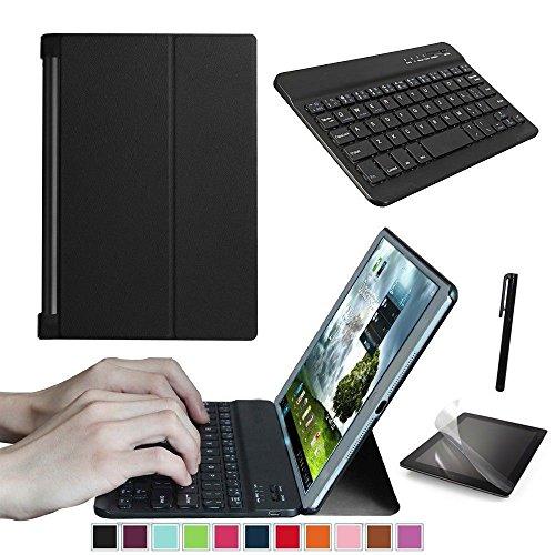 Kit di base per tablet Lenovo Yoga Tab 3 10.1' YT3-X50F X50L X50M con tastiera, protezione schermo e penna stilo inclusi