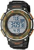 Armitron Sport Men's 40/8377DGN Olive Green Accented Digital Chronograph Black Neoprene Strap Watch