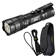 HIGH PERFORMANCE - Nitecore NM02 pushes 2700 lumens up to 160 yards, ideal for everyday carry (EDC) or a great work light. The simple user friendly interface with single tactile tail switch controls both power and brightness settings. USB RECHARGEABL...