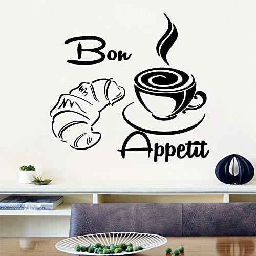 yaonuli Benutzerdefinierte küche Kaffee Selbstklebende Vinyl wasserdichte wandaufkleber für kinderzimmer Haus Dekoration Aufkleber wandbild Wand stickers45x48cm